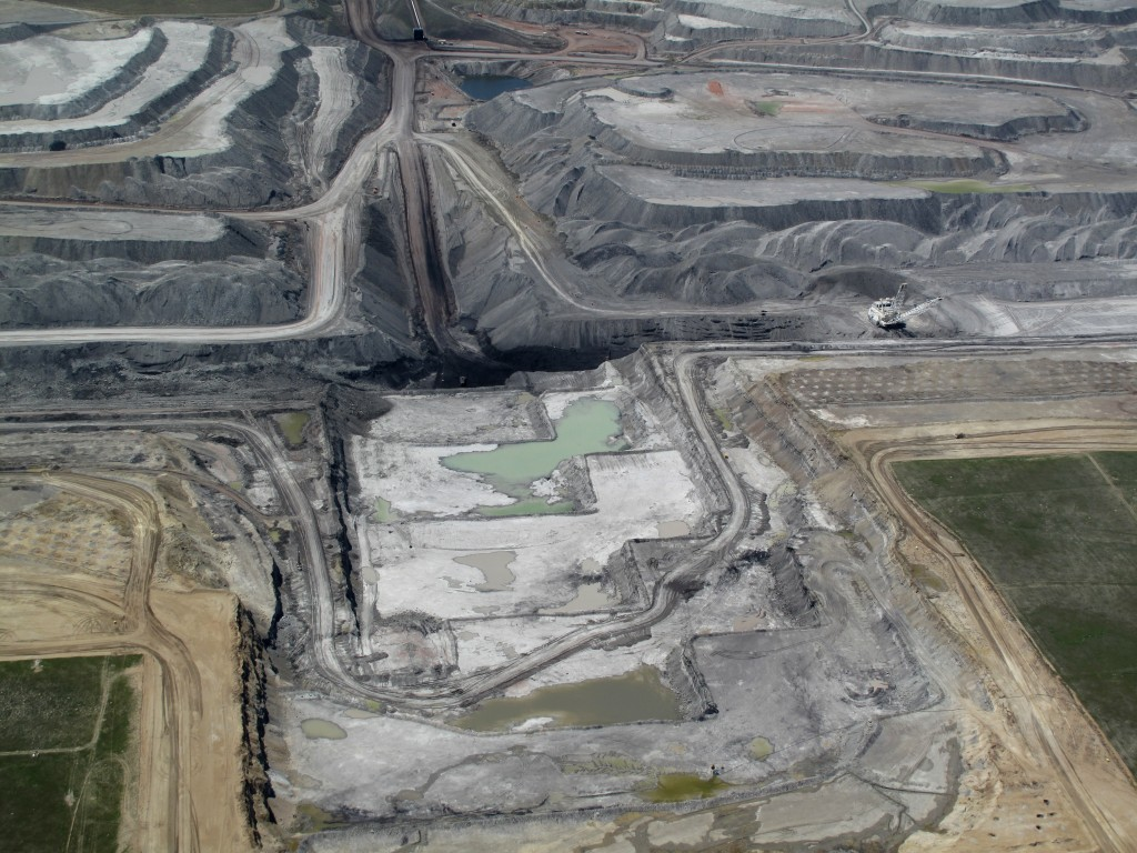Black Thunder Coal Mine in Wyoming. Photo by EcoFlight.