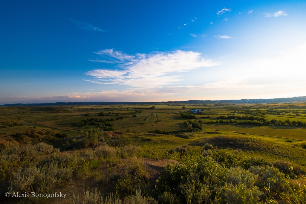 The Otter Creek Valley in southeastern Montana.